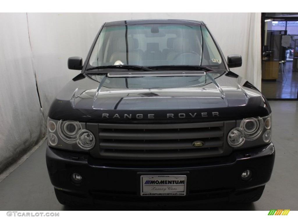 2007 Range Rover HSE - Java Black Pearl / Sand Beige photo #2