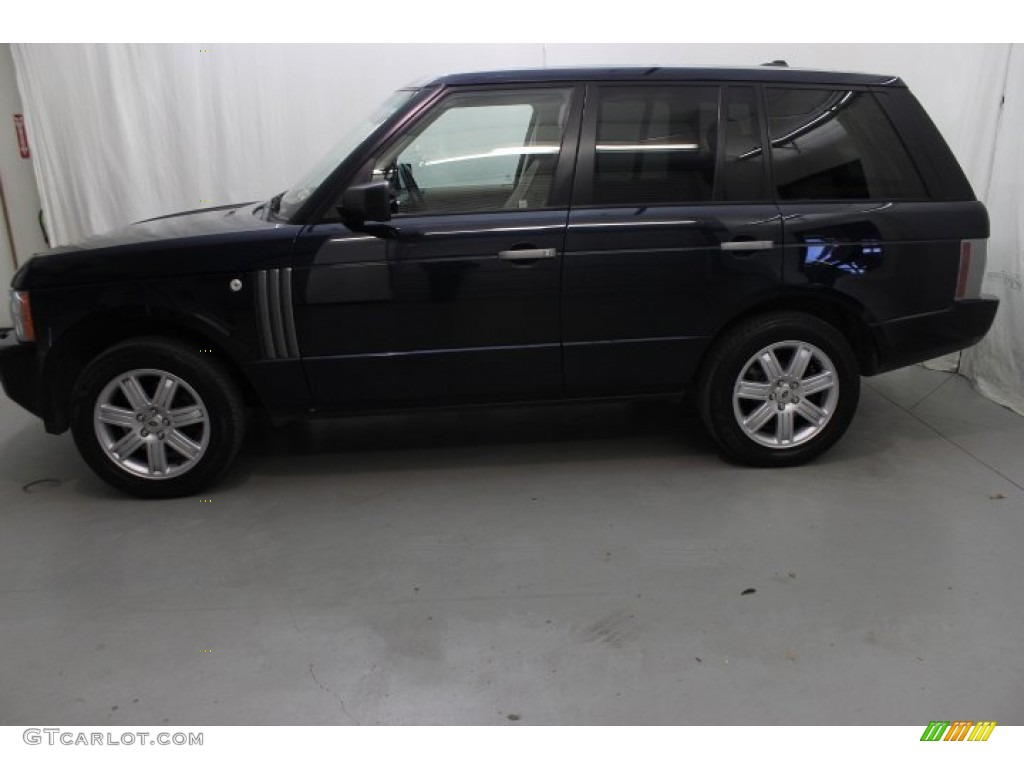 2007 Range Rover HSE - Java Black Pearl / Sand Beige photo #4