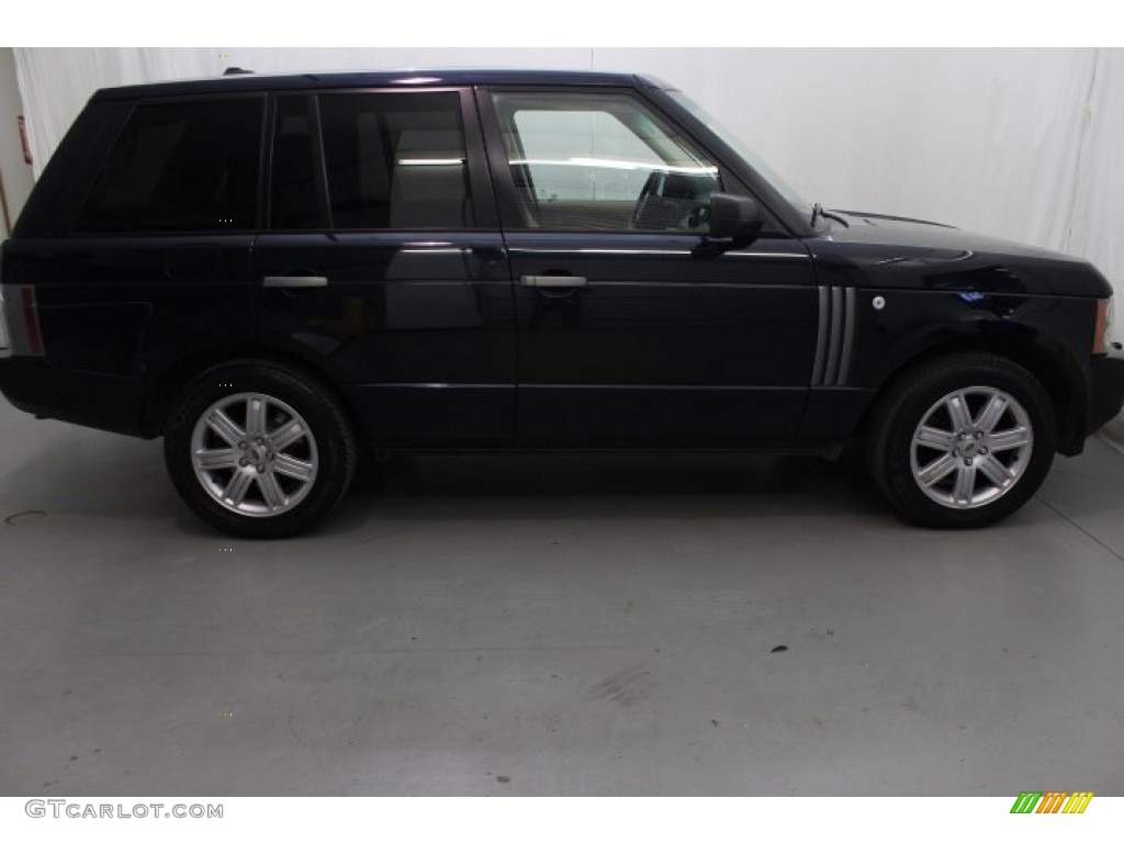 2007 Range Rover HSE - Java Black Pearl / Sand Beige photo #7