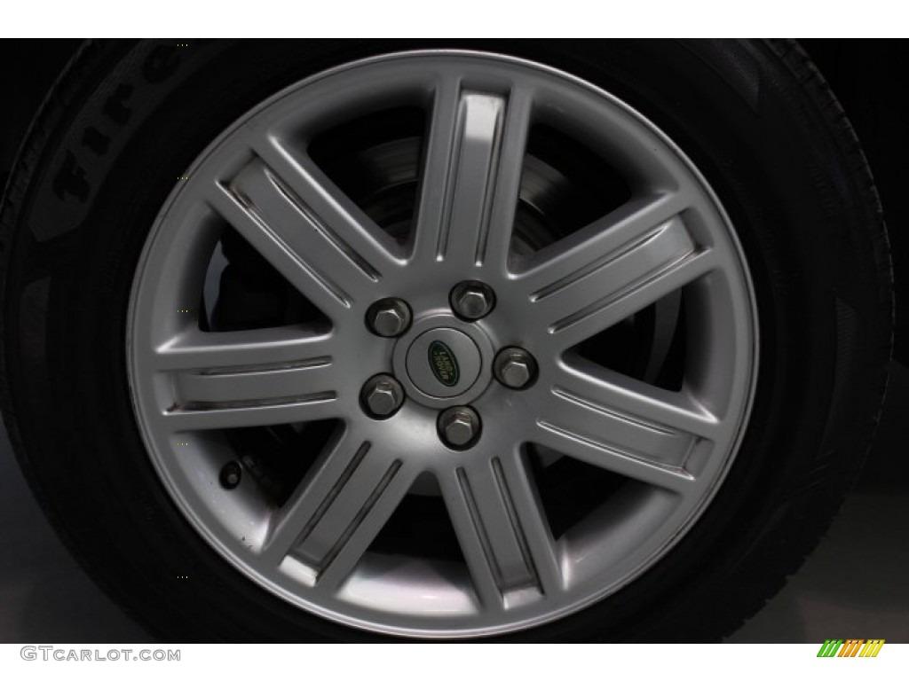 2007 Range Rover HSE - Java Black Pearl / Sand Beige photo #8