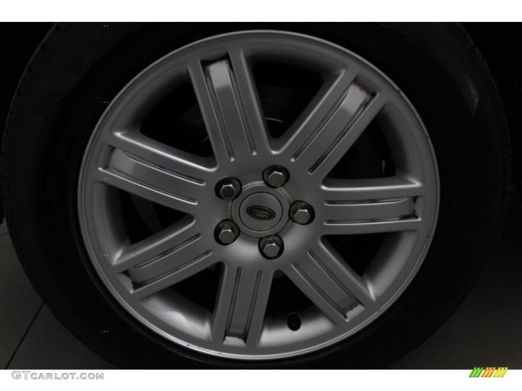 2007 Range Rover HSE - Java Black Pearl / Sand Beige photo #10