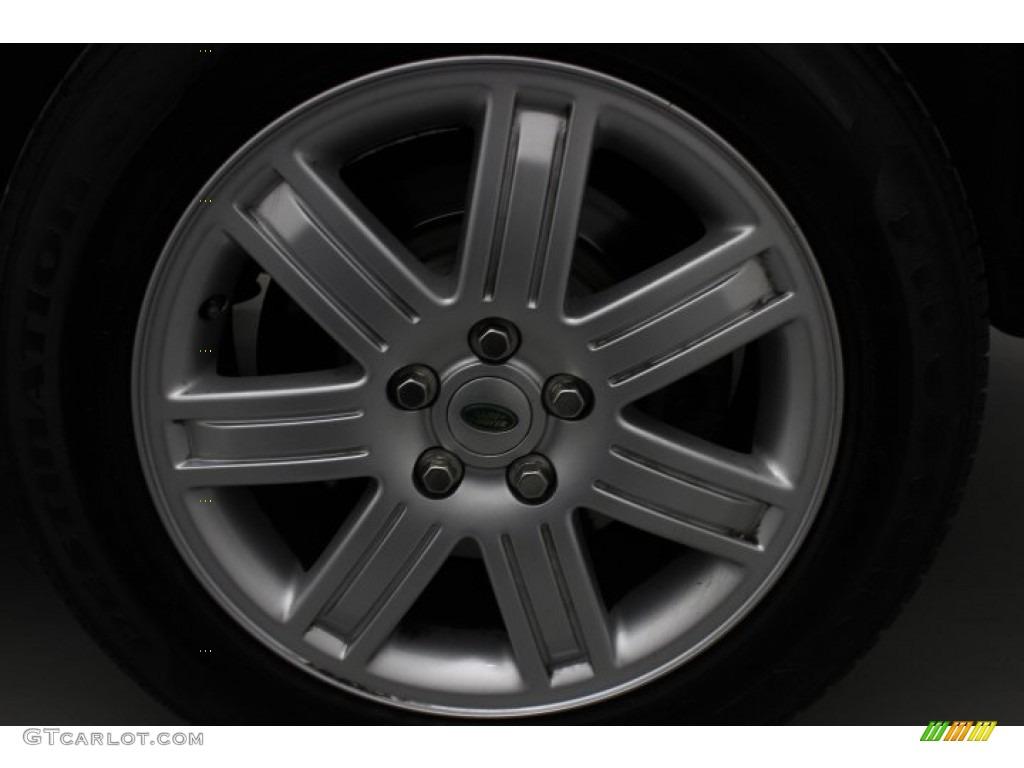 2007 Range Rover HSE - Java Black Pearl / Sand Beige photo #11