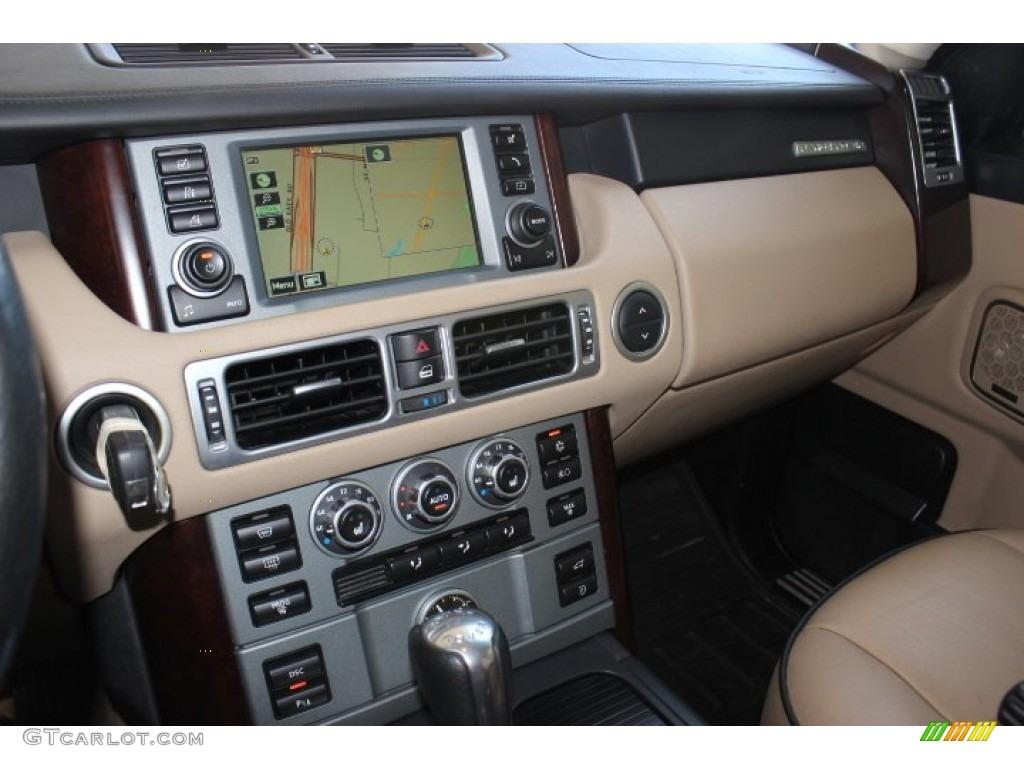 2007 Range Rover HSE - Java Black Pearl / Sand Beige photo #17