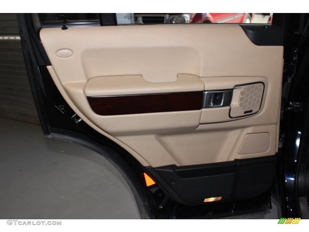 2007 Range Rover HSE - Java Black Pearl / Sand Beige photo #31