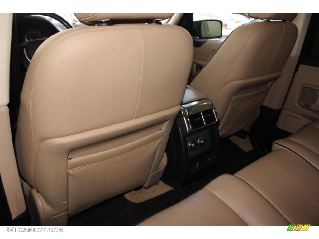2007 Range Rover HSE - Java Black Pearl / Sand Beige photo #32