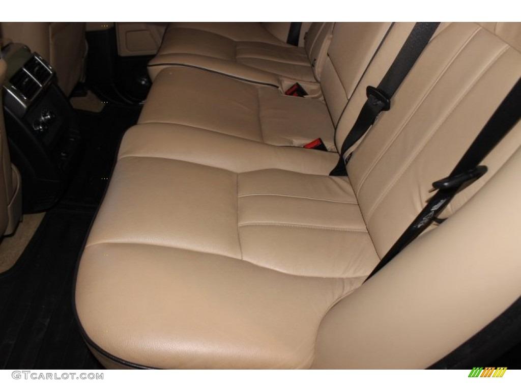2007 Range Rover HSE - Java Black Pearl / Sand Beige photo #33