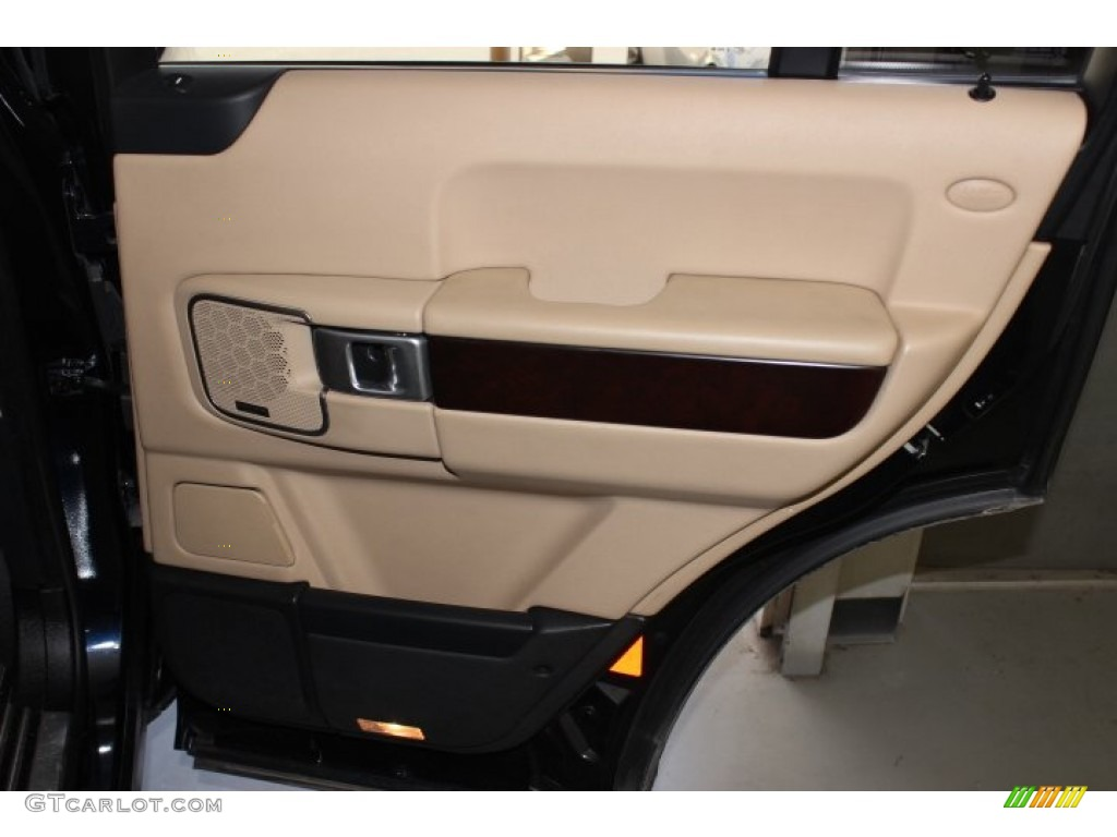 2007 Range Rover HSE - Java Black Pearl / Sand Beige photo #38