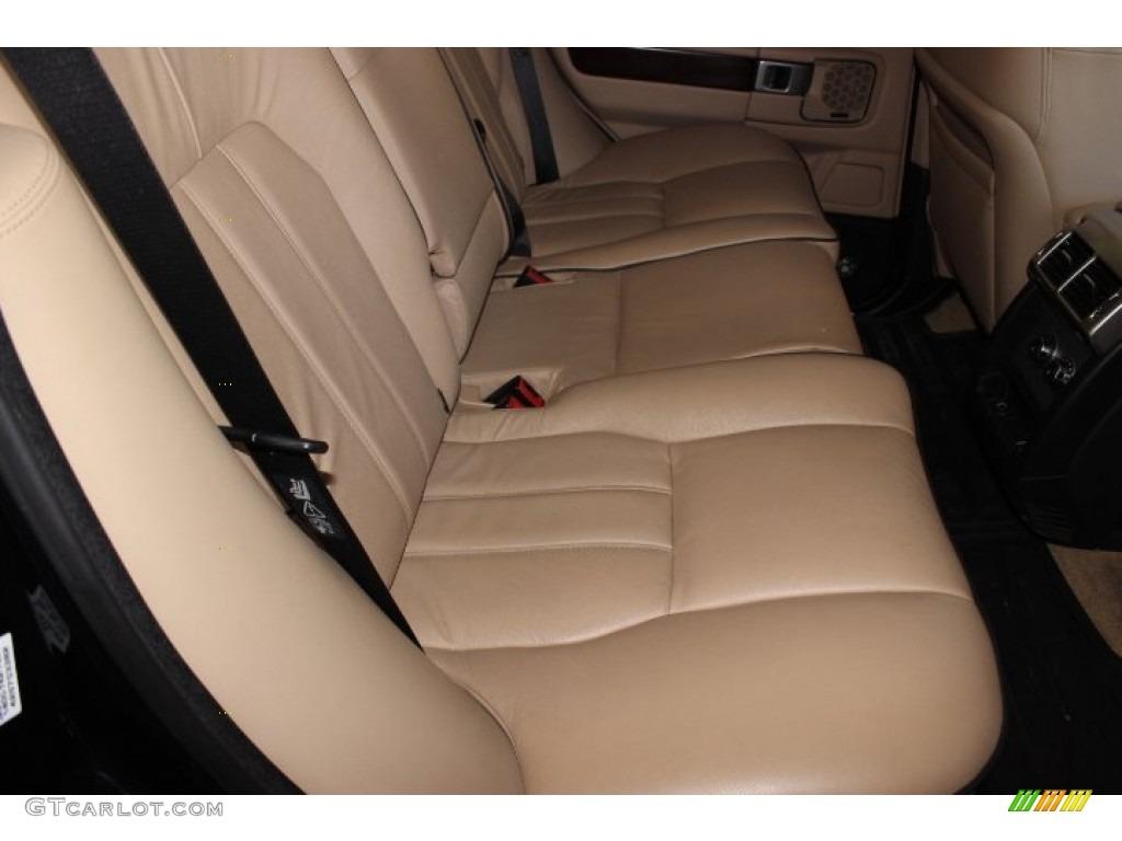 2007 Range Rover HSE - Java Black Pearl / Sand Beige photo #39