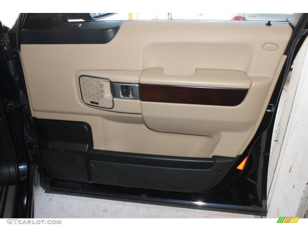 2007 Range Rover HSE - Java Black Pearl / Sand Beige photo #40