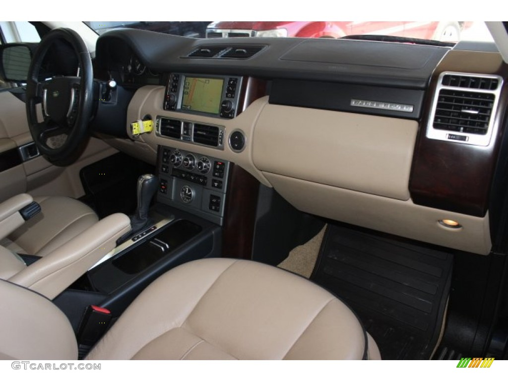 2007 Range Rover HSE - Java Black Pearl / Sand Beige photo #41