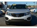 2011 Bright Silver Kia Sorento LX V6  photo #7