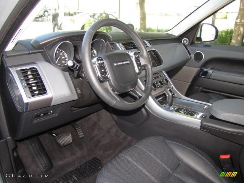 Range Rover 2014 Interior Supercharged Ebony/Lunar/Ebony Inte...