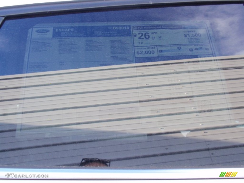 2014 Escape SE 1.6L EcoBoost - White Platinum / Charcoal Black photo #41