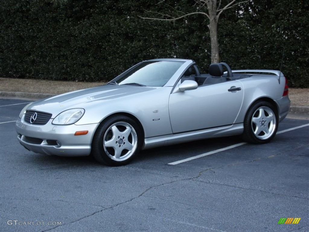 1999 mercedes benz slk 230 kompressor roadster exterior for Mercedes benz slk 230
