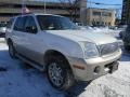 Oxford White 2004 Mercury Mountaineer V8 AWD
