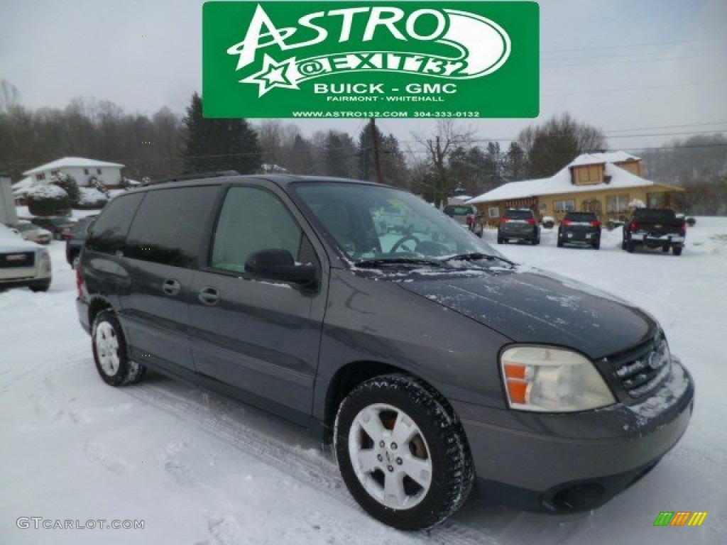 Dark shadow grey metallic ford freestar