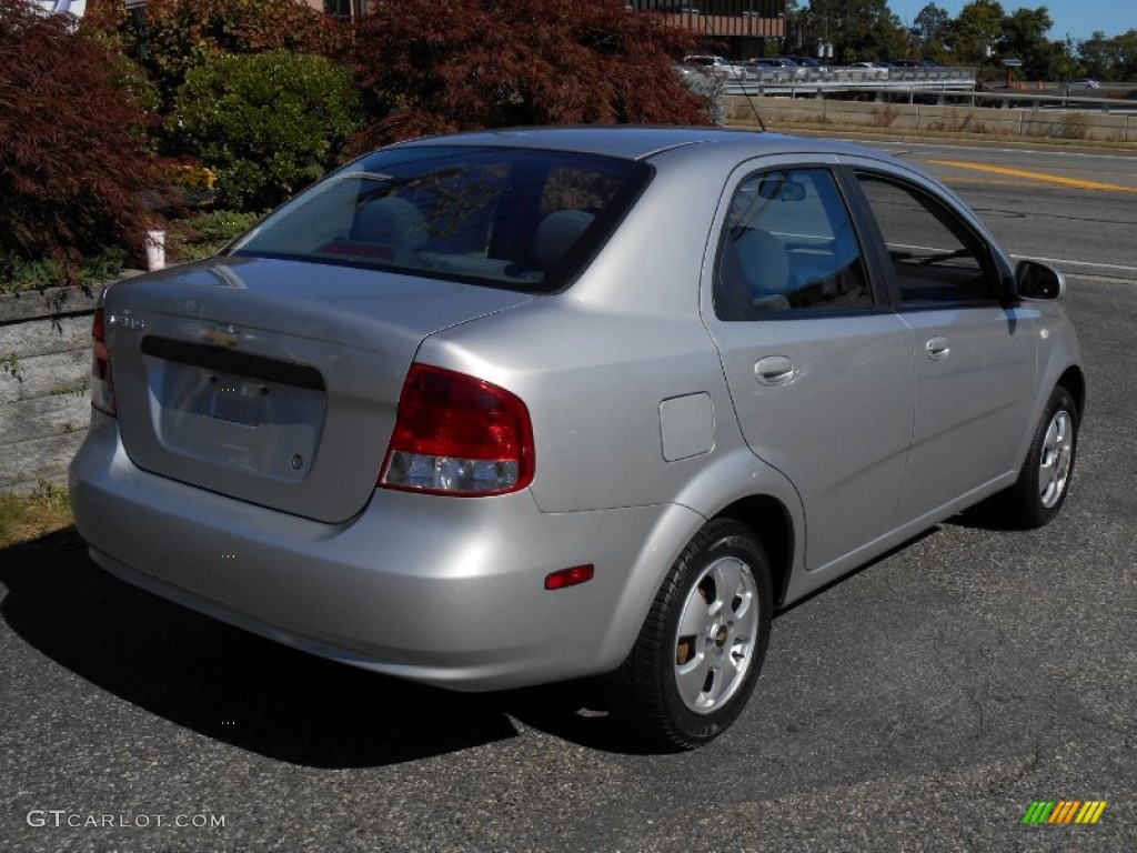 cosmic silver 2006 chevrolet aveo ls sedan exterior photo. Black Bedroom Furniture Sets. Home Design Ideas