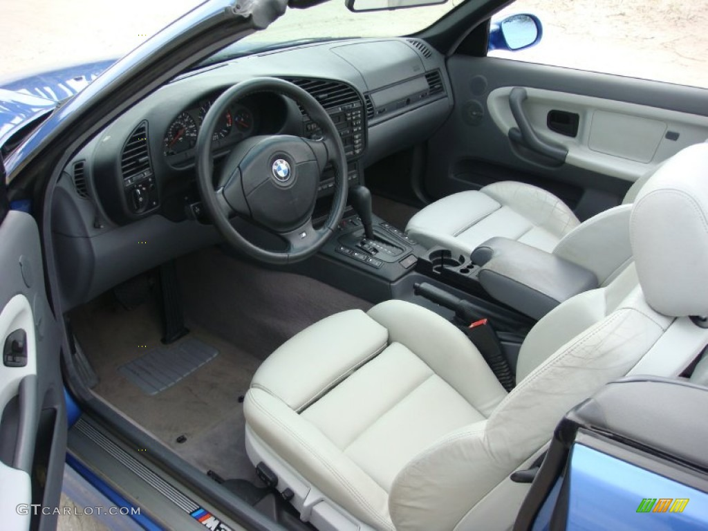 Grey Interior 1998 Bmw M3 Convertible Photo 90060523