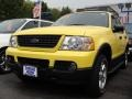 2003 Zinc Yellow Ford Explorer XLT 4x4  photo #1