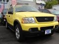 2003 Zinc Yellow Ford Explorer XLT 4x4  photo #3