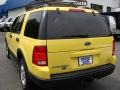2003 Zinc Yellow Ford Explorer XLT 4x4  photo #9