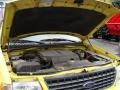 2003 Zinc Yellow Ford Explorer XLT 4x4  photo #31