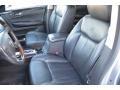 2008 Cadillac DTS Ebony Interior Front Seat Photo