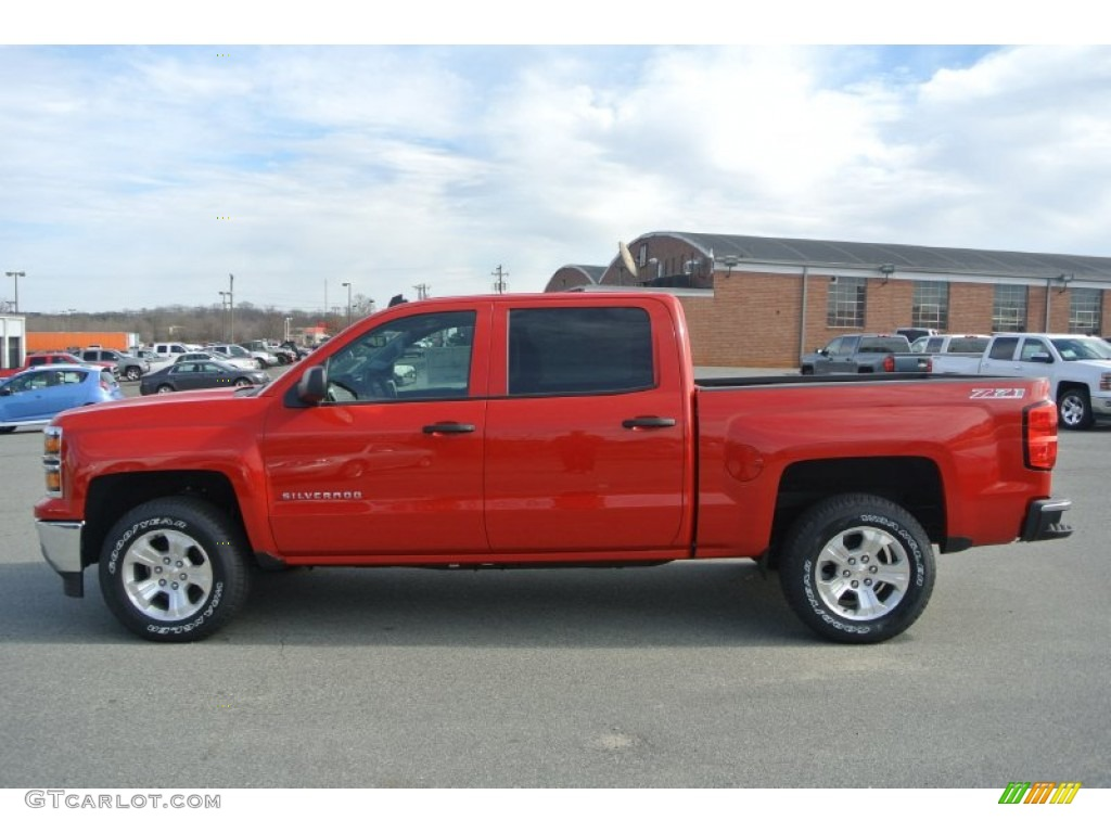 2014 victory red chevrolet silverado 1500 lt z71 crew cab 4x4 90068406 photo 3. Black Bedroom Furniture Sets. Home Design Ideas