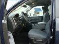 Front Seat of 2013 1500 SLT Quad Cab 4x4