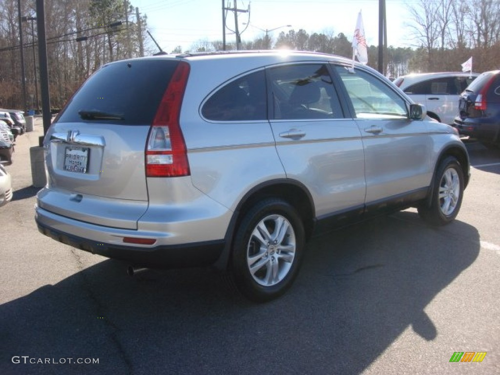 2011 CR-V EX-L - Alabaster Silver Metallic / Gray photo #6