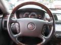 2009 Cadillac DTS Ebony Interior Steering Wheel Photo