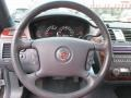 2006 Cadillac DTS Midnight Blue Interior Steering Wheel Photo