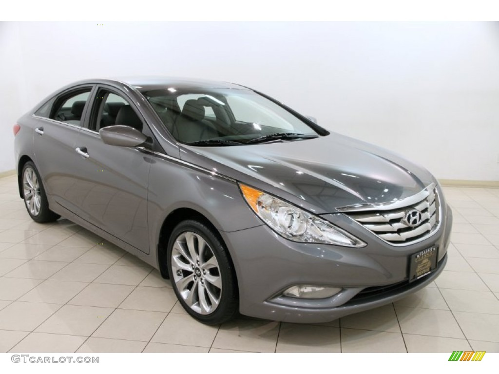 2012 harbor gray metallic hyundai sonata limited 2 0t 90125283 car color galleries. Black Bedroom Furniture Sets. Home Design Ideas