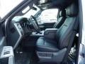 2014 Ford F250 Super Duty Black Interior Front Seat Photo