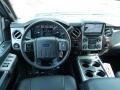 2014 Ford F250 Super Duty Black Interior Dashboard Photo