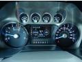 2014 Ford F250 Super Duty Black Interior Gauges Photo
