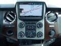 2014 Ford F250 Super Duty Black Interior Navigation Photo