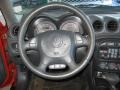 2000 Pontiac Grand Am Dark Pewter Interior Steering Wheel Photo