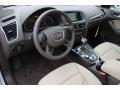 Pistachio Beige 2014 Audi Q5 Interiors