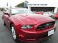 2014 Ruby Red Ford Mustang V6 Premium Coupe #90124870