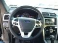 2014 Ford Explorer Charcoal Black Interior Steering Wheel Photo