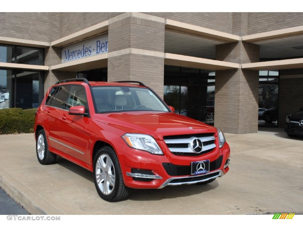 2013 Mars Red Mercedes Benz Glk 350 4matic 90125215