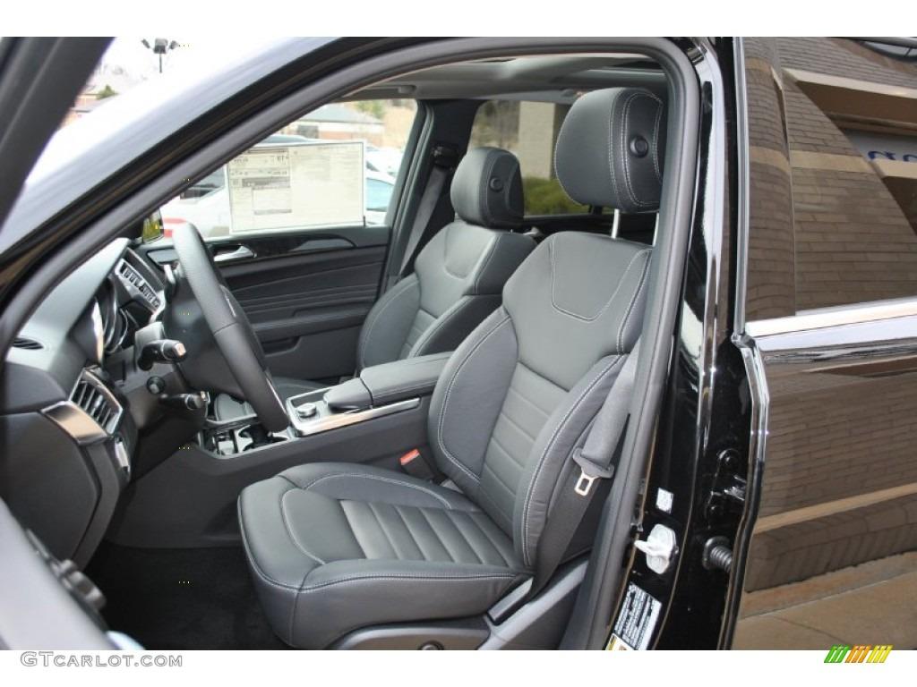 Black Interior 2014 Mercedes Benz Ml 350 4matic Photo