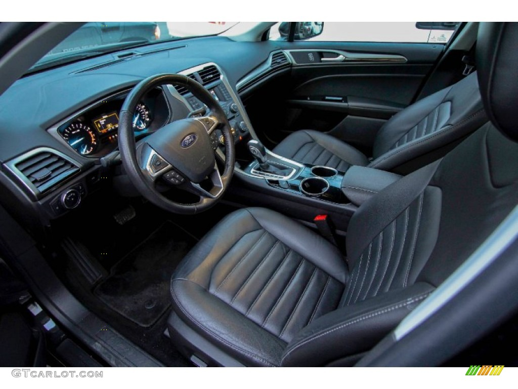 charcoal black interior 2013 ford fusion se 1 6 ecoboost photo 90180832. Black Bedroom Furniture Sets. Home Design Ideas