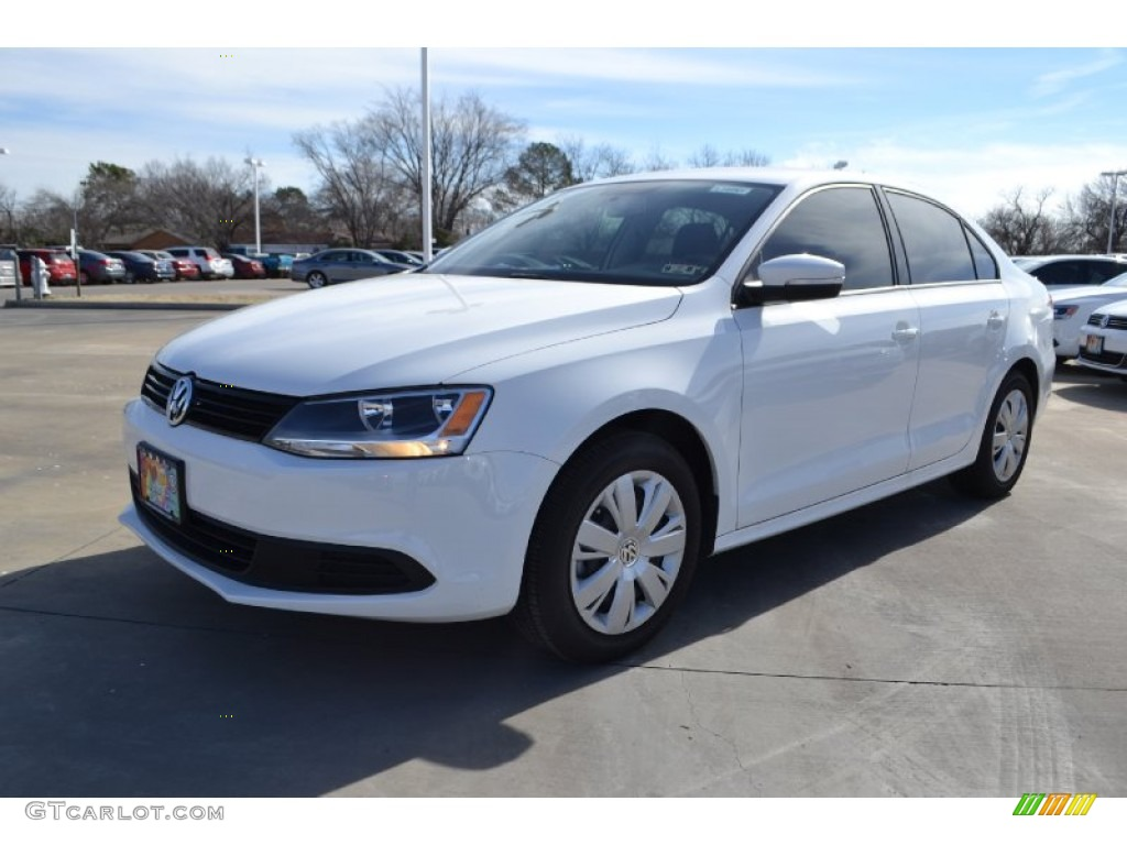 2014 pure white volkswagen jetta se sedan 90125185. Black Bedroom Furniture Sets. Home Design Ideas