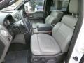 2005 Ford F150 Medium Flint/Dark Flint Grey Interior Front Seat Photo