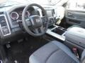 Black/Diesel Gray Prime Interior Photo for 2014 Ram 1500 #90210308