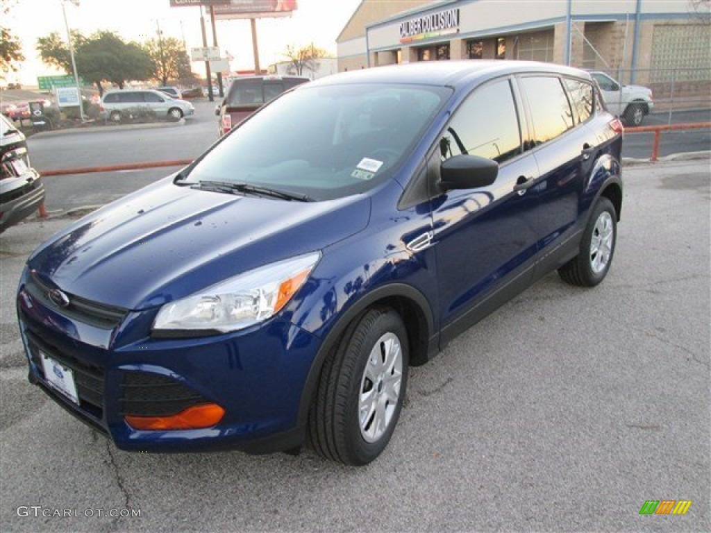 2014 Escape S - Deep Impact Blue / Charcoal Black photo #3