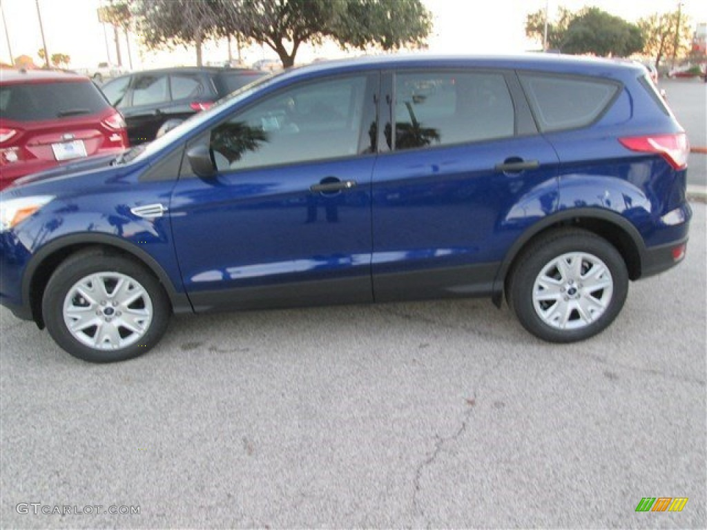 2014 Escape S - Deep Impact Blue / Charcoal Black photo #4