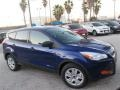 2014 Deep Impact Blue Ford Escape S  photo #9